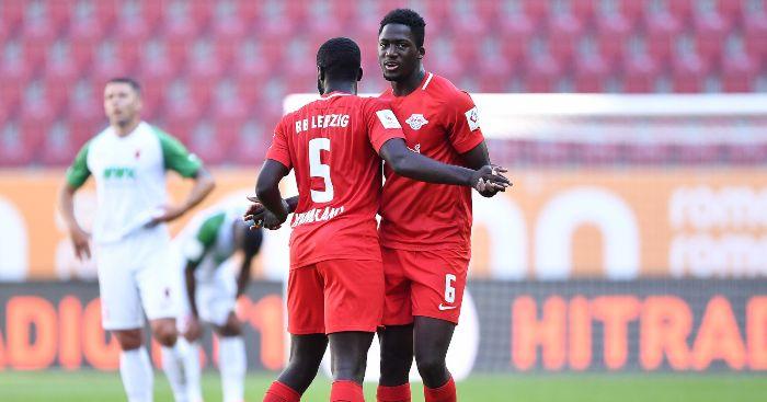 Ibrahima Konate Dayot Upamecano RB Leipzig Liverpool