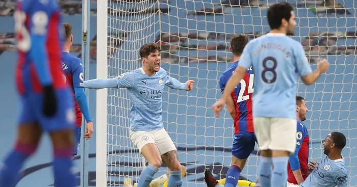 Man City 4-0 Crystal Palace: Stones double sends City second thumbnail