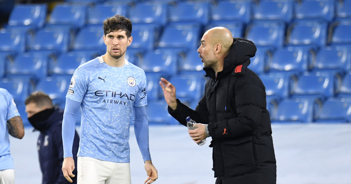 Guardiola: If anyone deserves the best it's Stones thumbnail