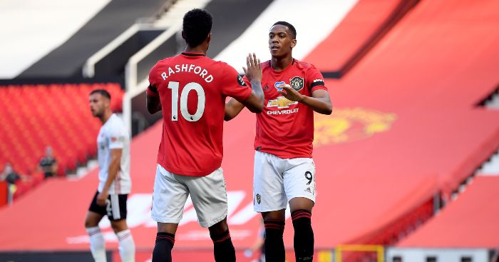 Marcus Rashford Man Utd Anthony Martial