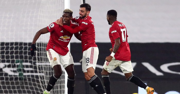 Pogba Man United Fulham