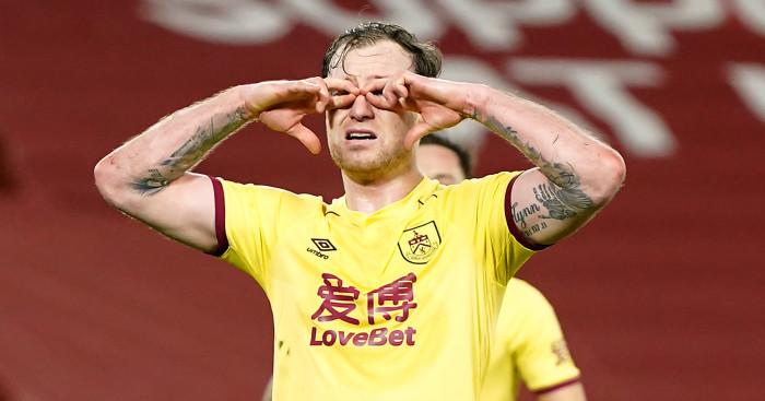 Ashley Barnes Burnley Liverpool
