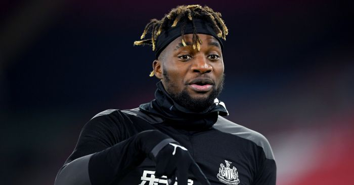 Allan Saint-Maximin Newcastle United