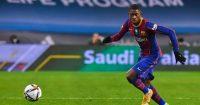 Ousmane Dembele Barcelona Man Utd