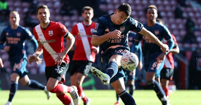 Gabriel Martinelli Arsenal Southampton