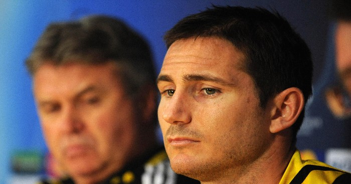 Lampard Hiddink Chelsea