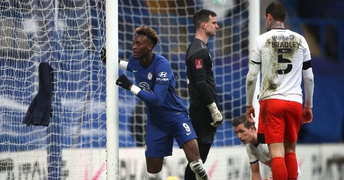 Chelsea 3-1 Luton Town: Abraham hat-trick sends the Blues through