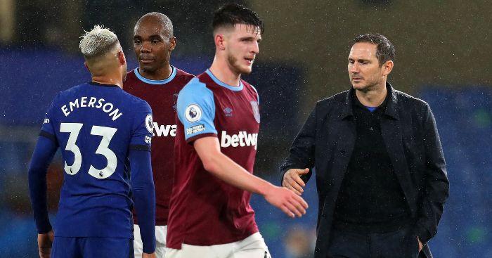 Declan Rice Frank Lampard Chelsea