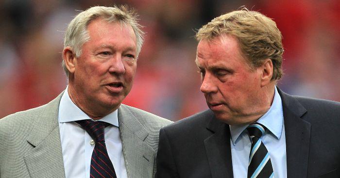Harry Redknapp Sir Alex Ferguson Man Utd Chelsea