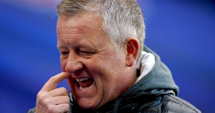 Chris Wilder Sheffield United Man Utd
