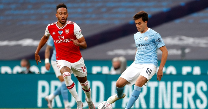 Eric Garcia Arsenal Man City