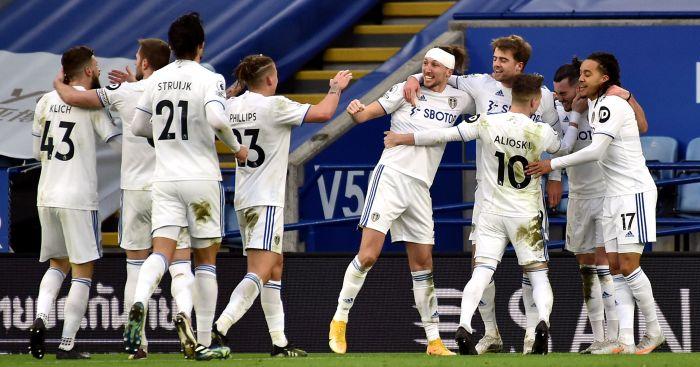 Leeds celebrate Leicester