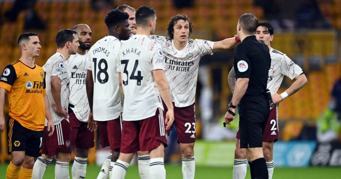 David Luiz Arsenal Ian Wright