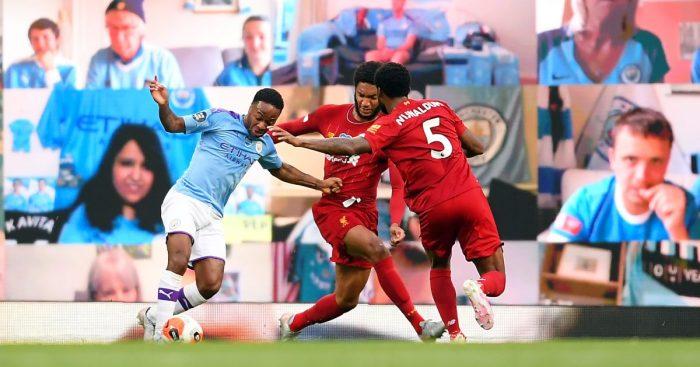 Raheem Sterling Liverpool Manchester City