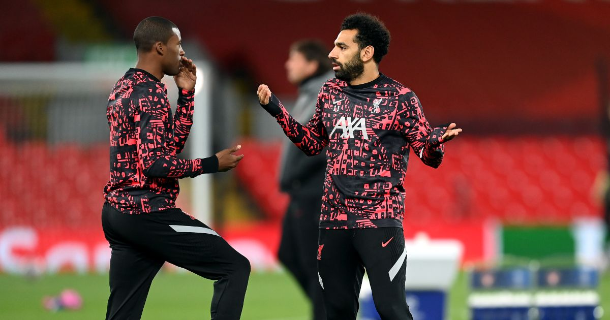 Mo Salah Georginio Wijnaldum Liverpool
