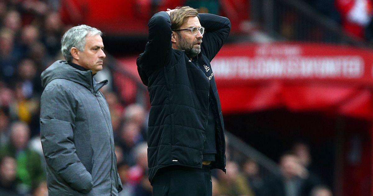 Jose Mourinho Jurgen Klopp Spurs Liverpool