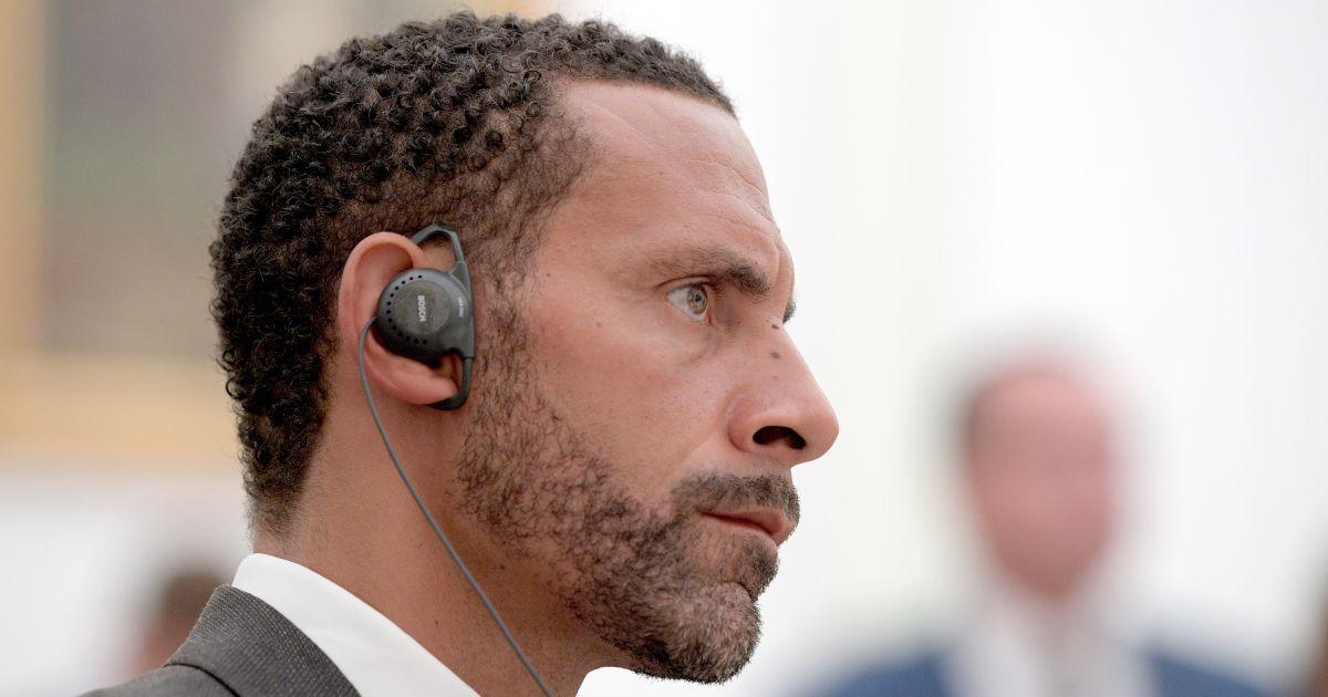 Rio Ferdinand Spurs