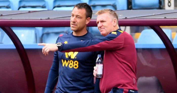 John Terry Dean Smith Aston Villa