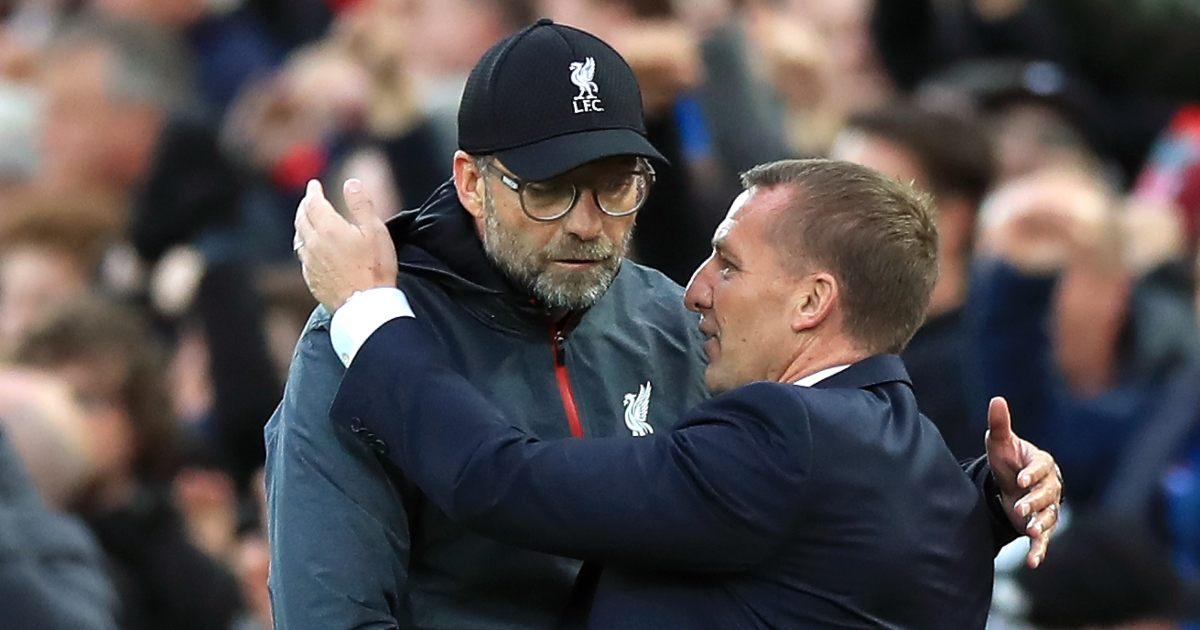 Jurgen Klopp Liverpool Brendan Rodgers