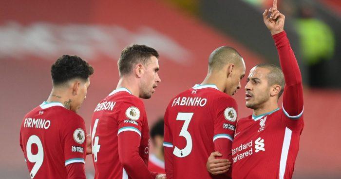 Jordan Henderson Thiago Alcantara Liverpool