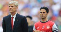 Arsene Wenger Mikel Arteta Arsenal