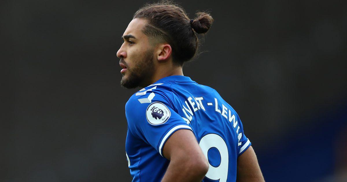 Calvert-Lewin Ancelotti Everton