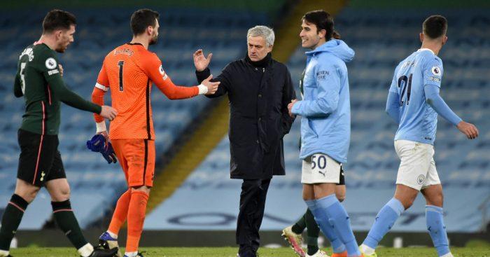 Hugo Lloris Jose Mourinho Spurs