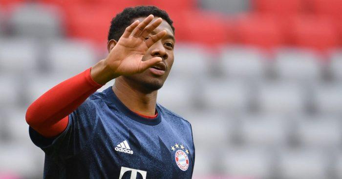 Alaba Bayern Munich