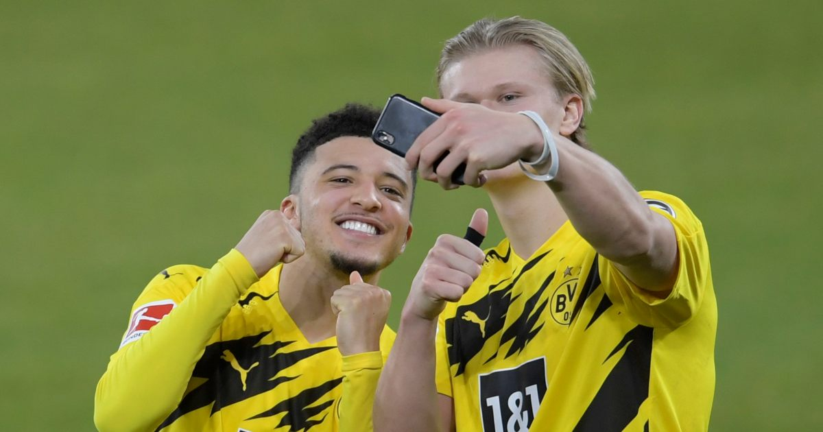 Jadon Sancho Erling Haaland Dortmund