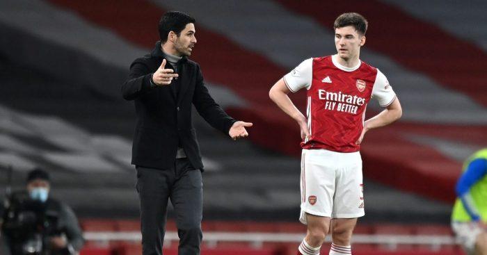 Kieran Tierney Mikel Arteta Arsenal