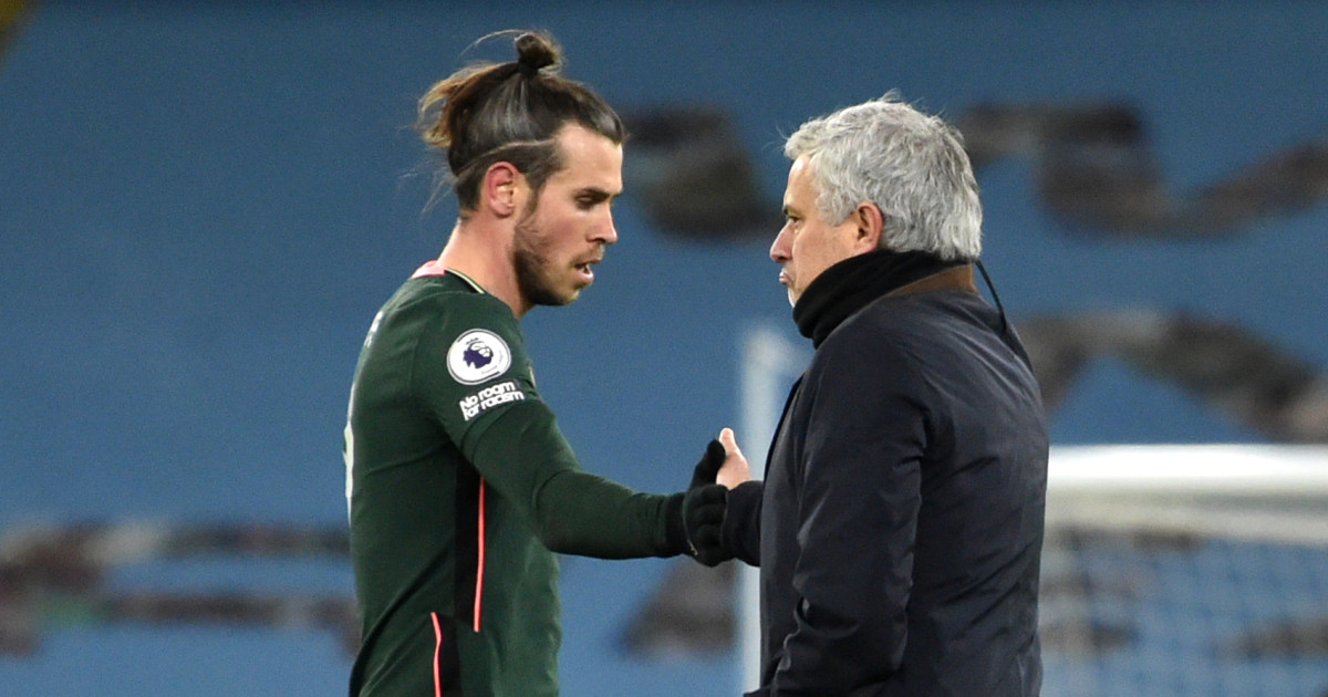 Gareth Bale Jose Mourinho