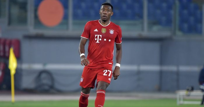 David Alaba Man Utd PSG