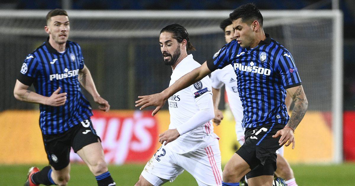 Atalanta 0-1 Real Madrid: 10-man Atalanta beaten late-on thumbnail