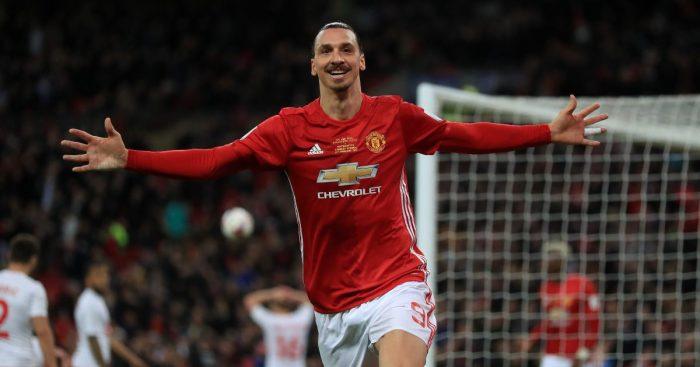 Zlatan Ibrahimovic Man Utd