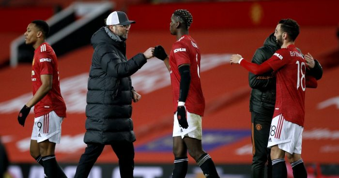 Jurgen Klopp Paul Pogba Liverpool Manchester United