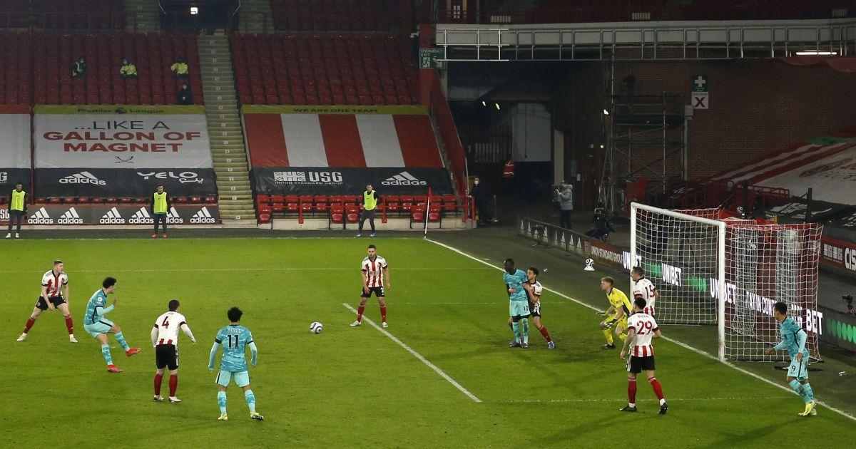 Curtis Jones goal Sheffield United Liverpool
