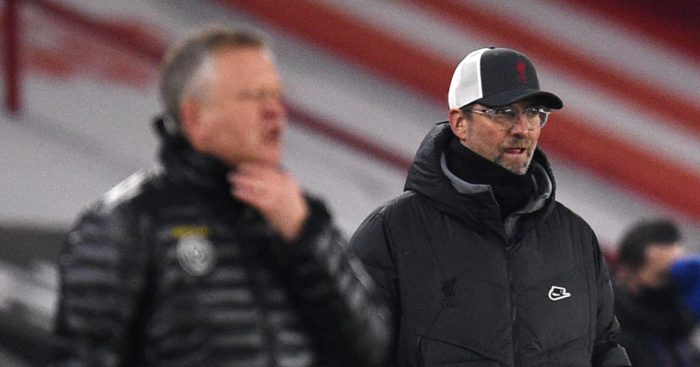 Chris Wilder Jurgen Klopp