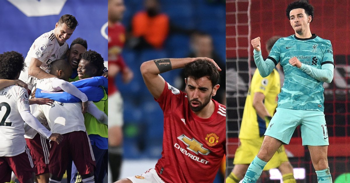 Arsenal top Premier League weekend winners and losers - Football365.com