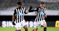 Allan Saint-Maximin Miguel Almiron Newcastle United