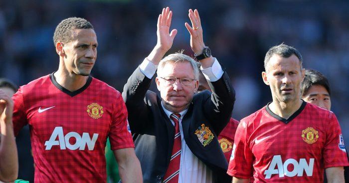 Rio Ferdinand Sir Alex Ferguson Man Utd