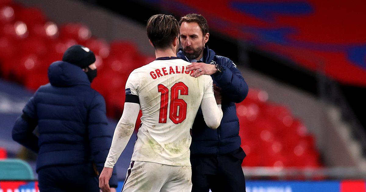 Jack Grealish Gareth Southgate England