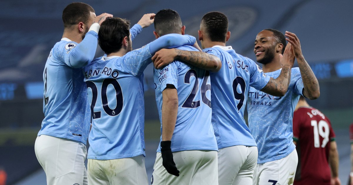 F The Asterisks This Is A Brilliant Man City Side Football365