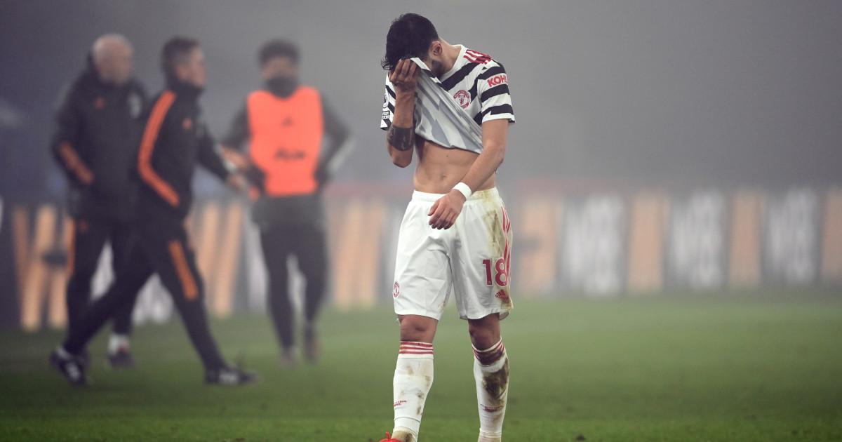 Manchester United go missing in the Selhurst fog
