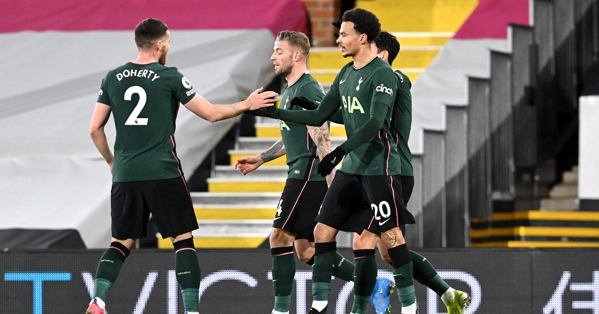 Fulham 0-1 Tottenham: Spurs survive late scare thumbnail