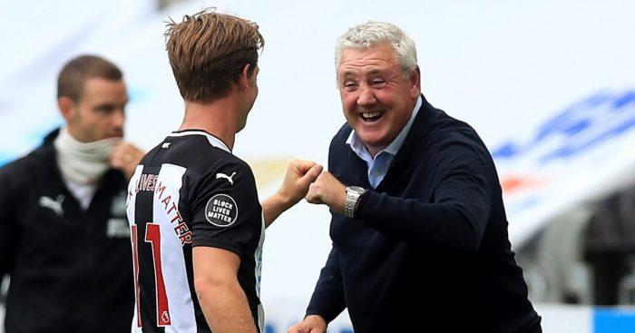 Steve Bruce Matt Ritchie Newcastle United