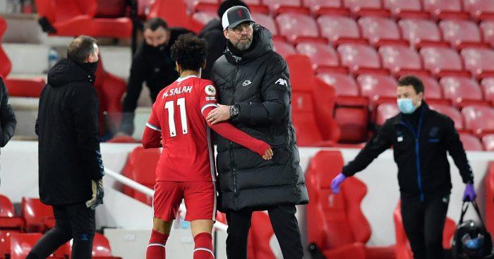 Jurgen Klopp Liverpool Mo Salah