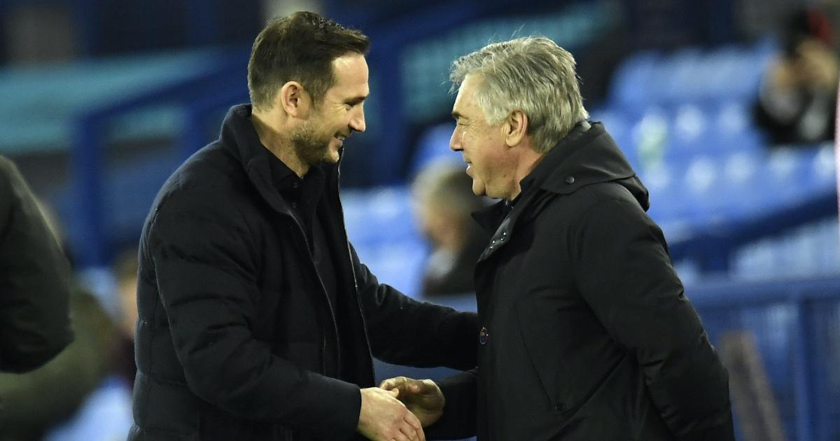 Ancelotti defends Lampard amid Tuchel clamour at Chelsea