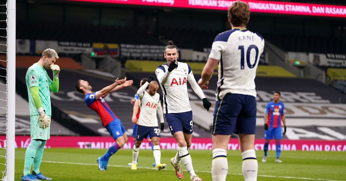 Tottenham 4-1 Crystal Palace: Kane and Bale power Spurs win - Football365