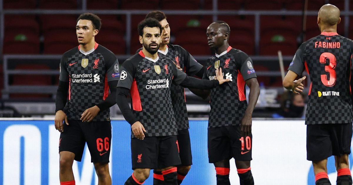 Mo Salah Roberto Firmino Sadio Mane Liverpool