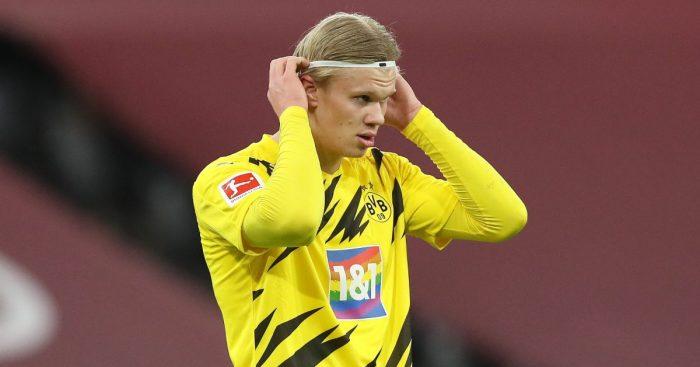 Erling Haaland Dortmund Man Utd